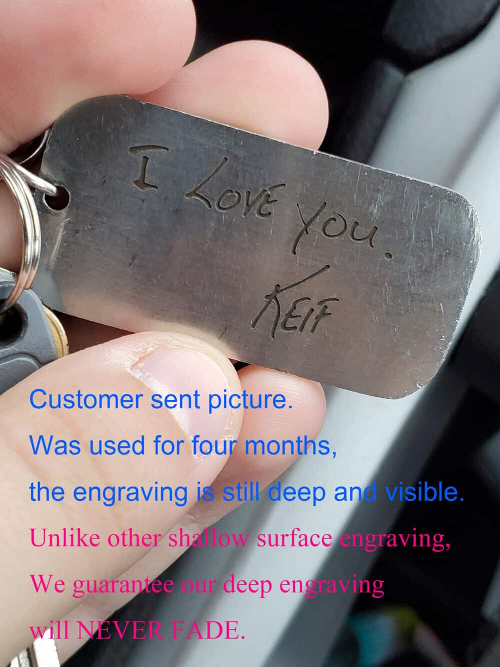 great engraving quality