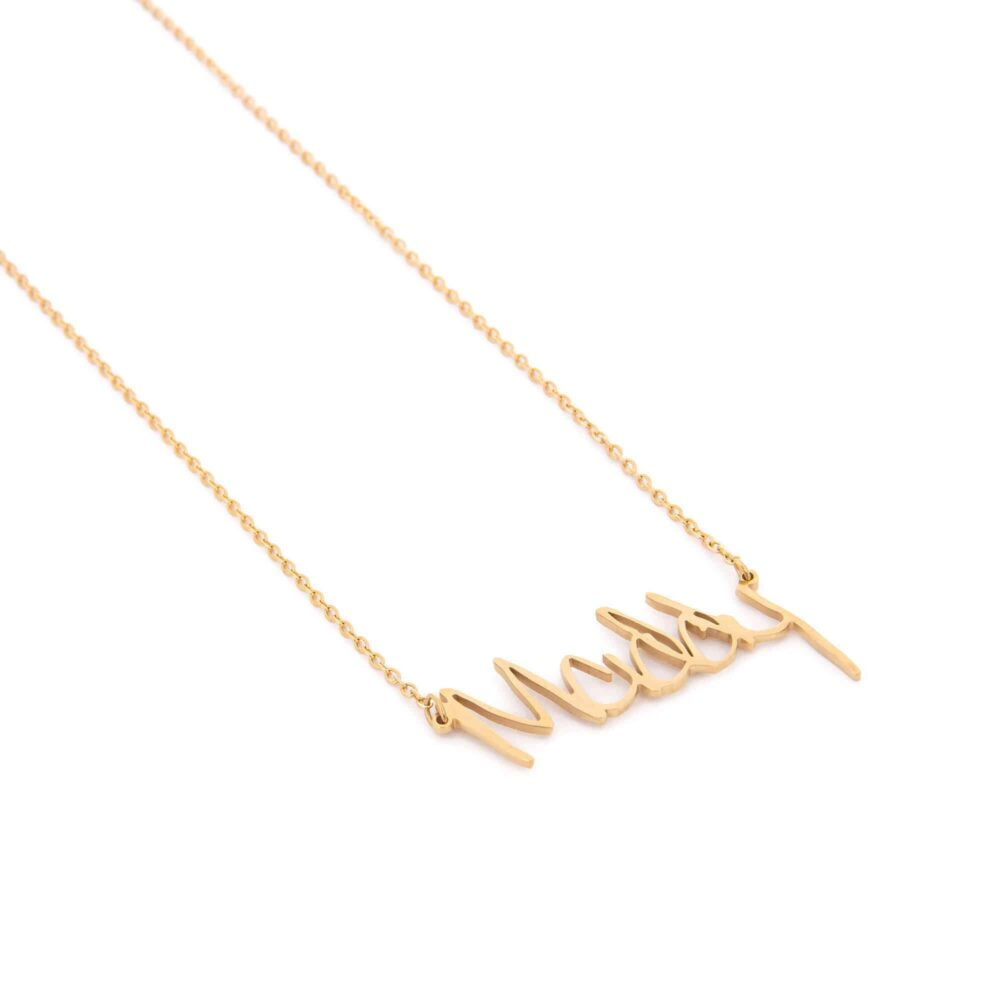 Actual handwriting necklace FM 238-5