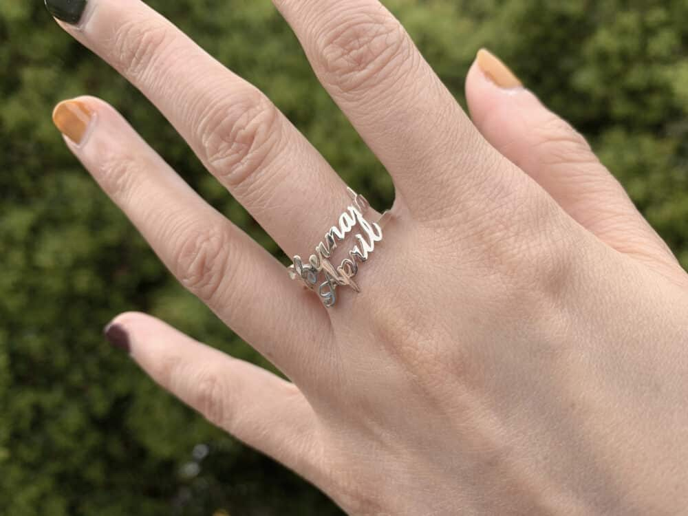 Double Name Ring FM 227-2