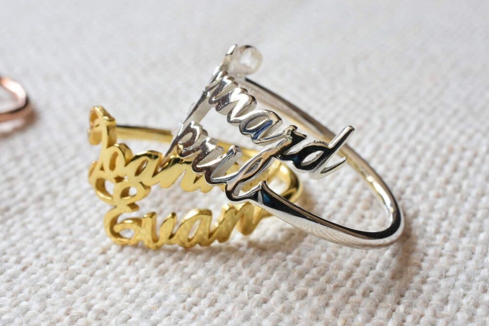 Double Name Ring FM 227-3