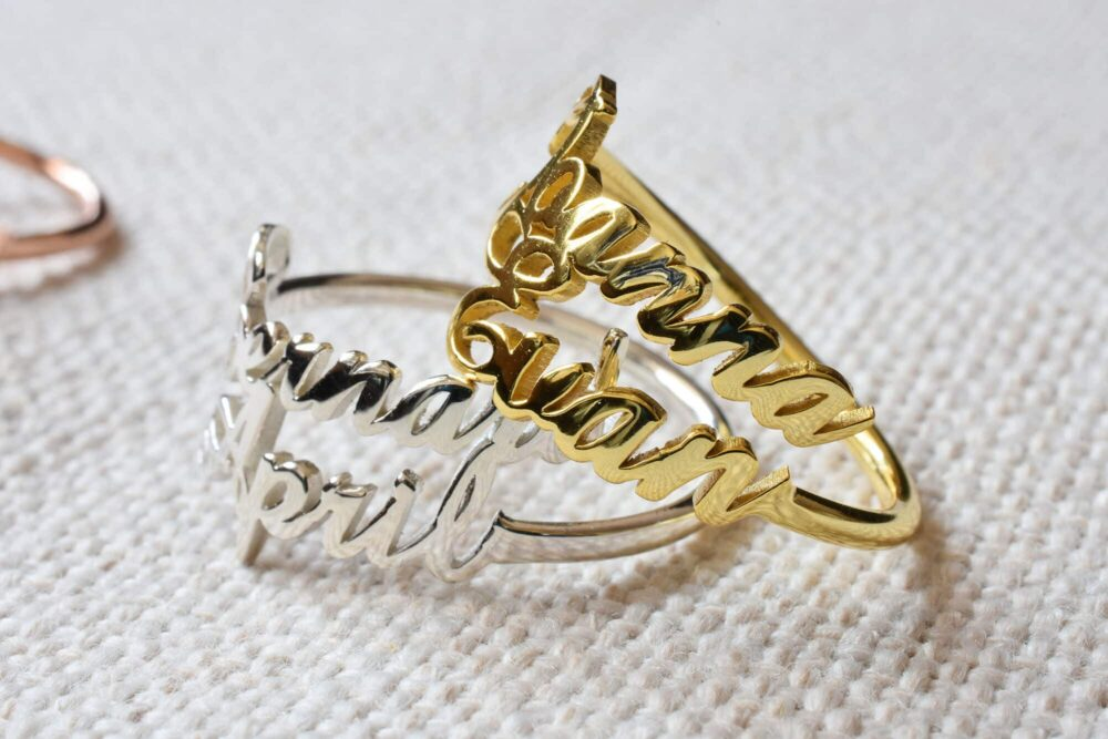 Double Name Ring FM 227-6