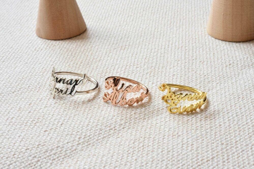 Double Name Ring FM 227-9