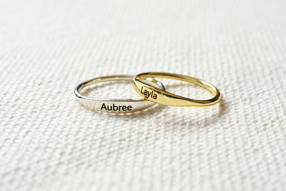 Personalized Stacking Ring FM 233-2