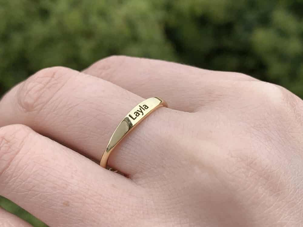 Personalized Stacking Ring FM 233-5