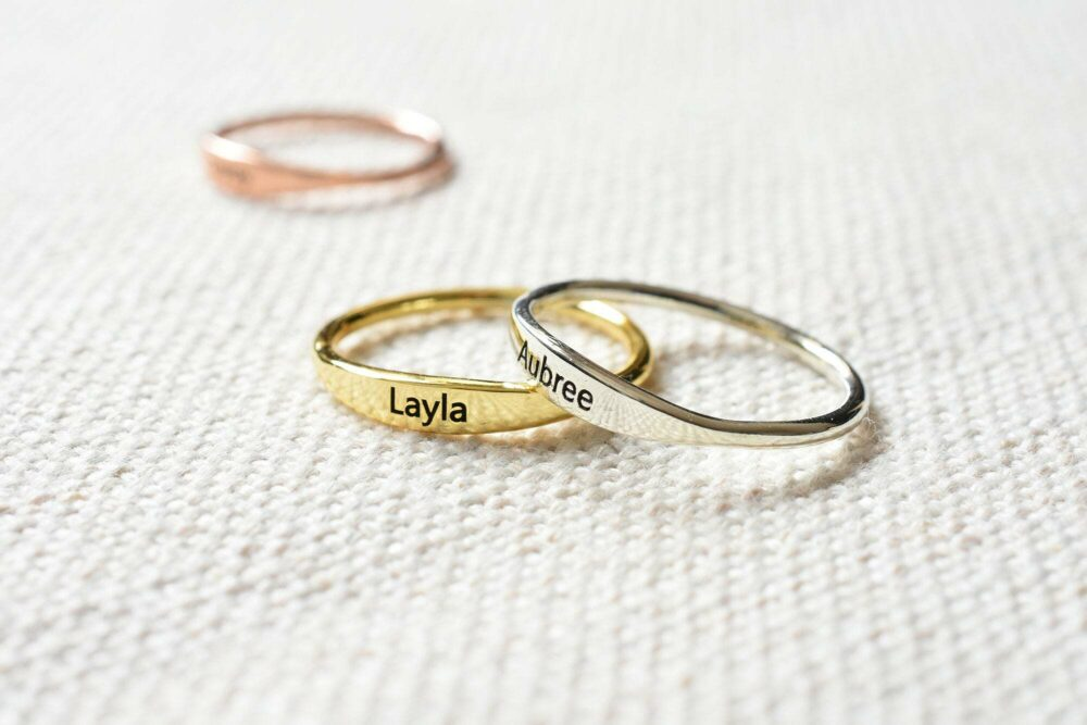 Personalized Stacking Ring FM 233-6