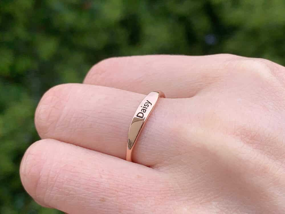Personalized Stacking Ring FM 233-8
