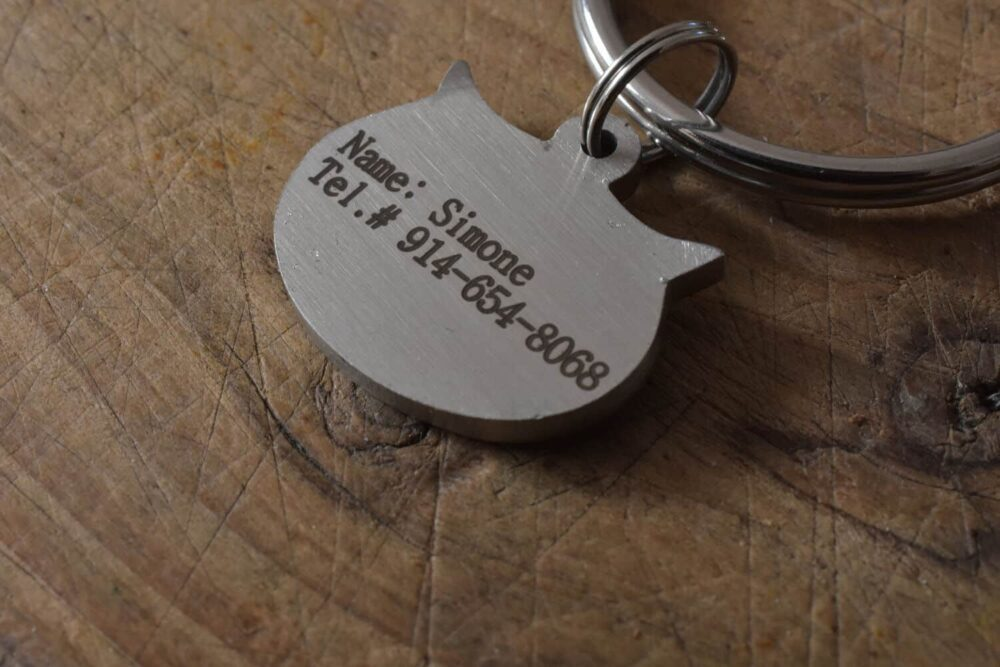 Personalized cat tag FM 230-2