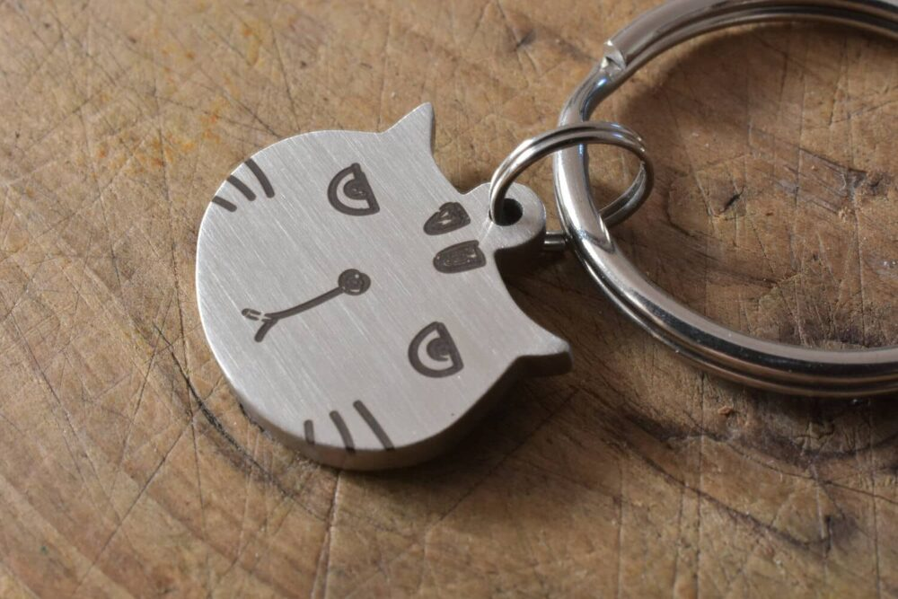 Personalized cat tag FM 230-3