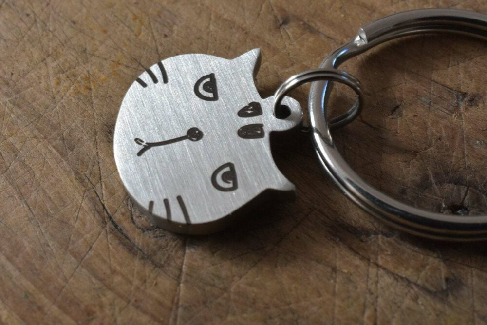 Personalized cat tag FM 230-4