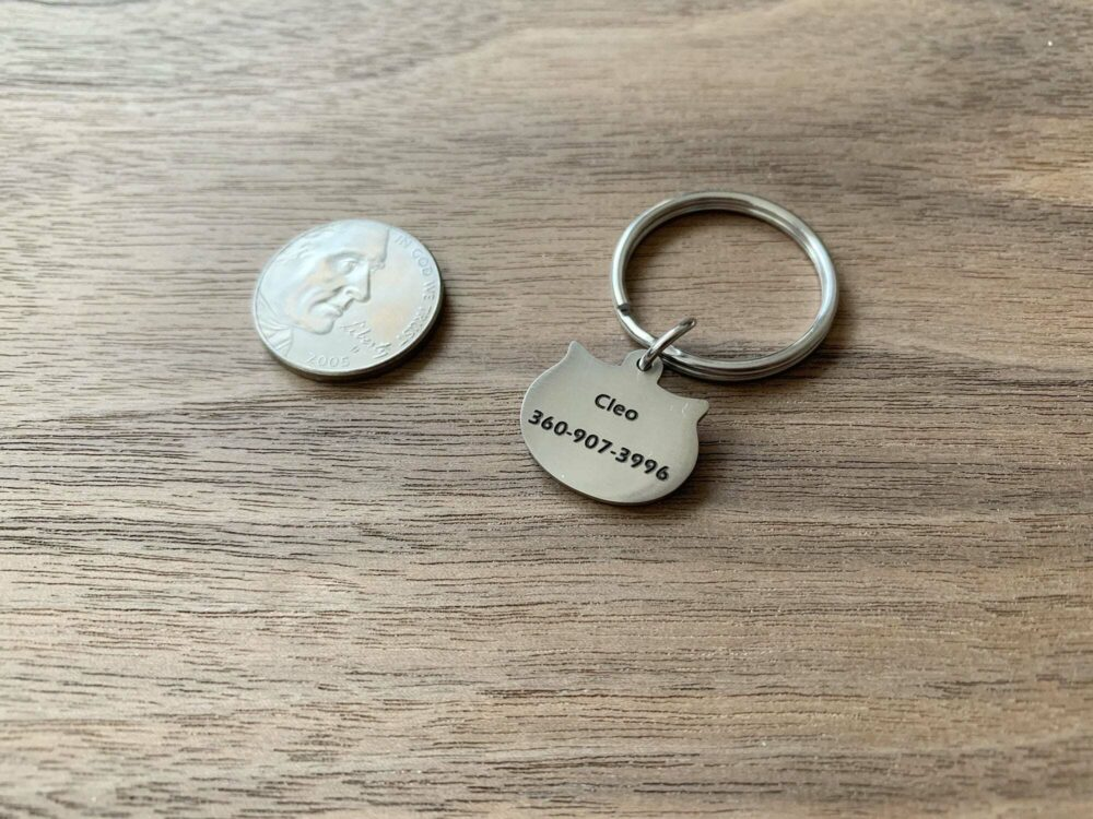 Personalized cat tag FM 230-5