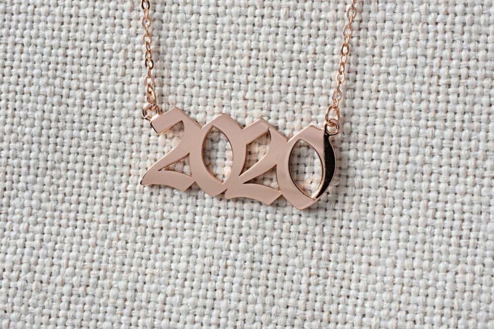 Personalized year necklace FM 235-2